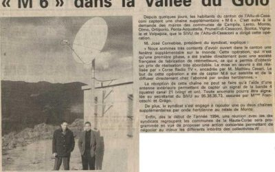 1993-12 : M6 dans la vallée du Golo